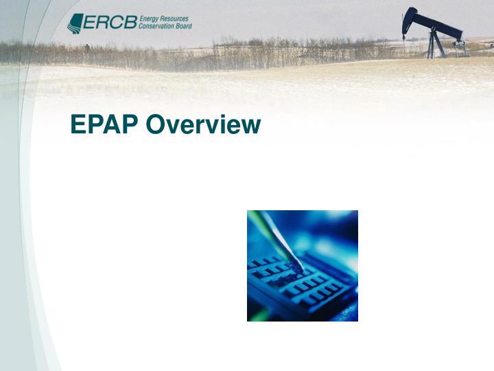 EPAP Overview