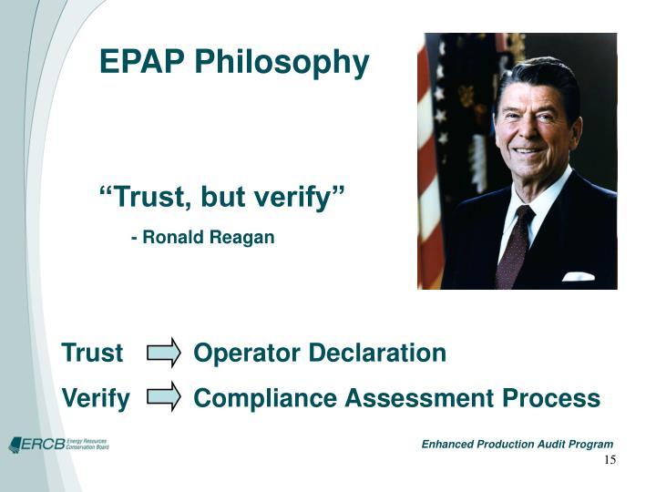 EPAP Philosophy