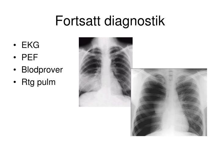 Fortsatt diagnostik