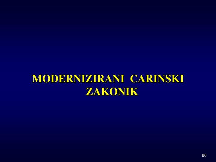 MODERNIZIRANI  CARINSKI ZAKONIK