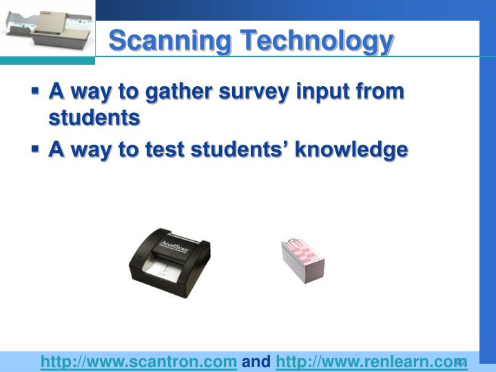 Scanning Technology