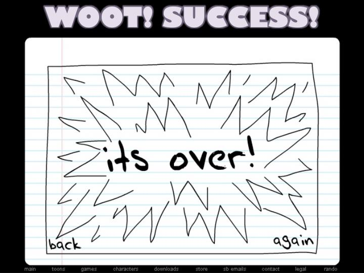 WOOT! SUCCESS!
