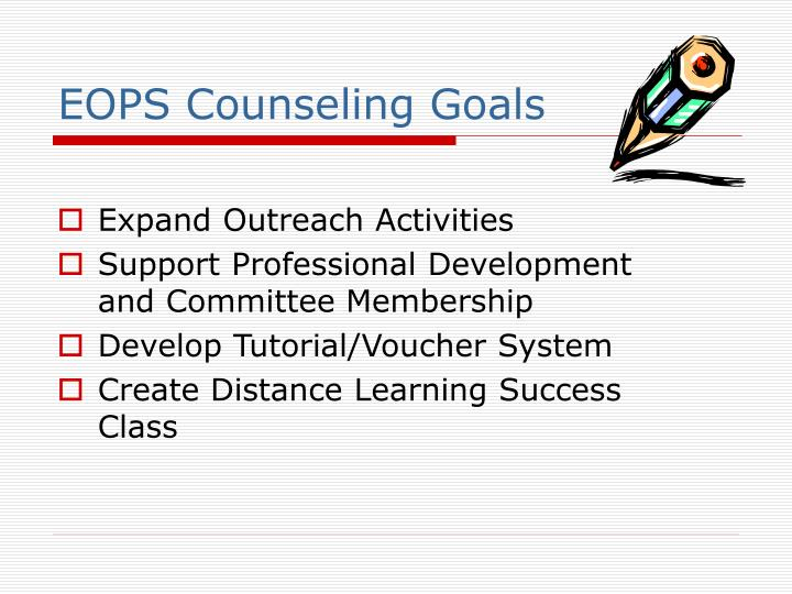 EOPS Counseling Goals