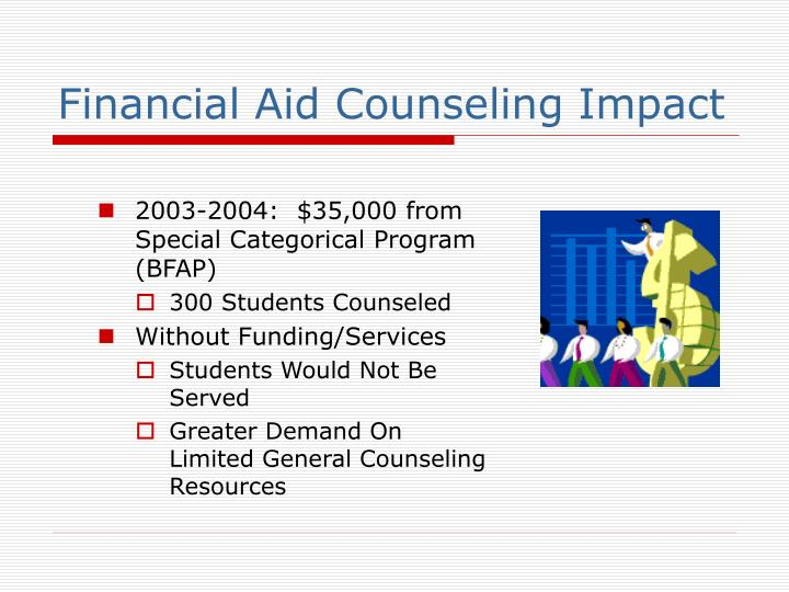 Financial Aid Counseling Impact