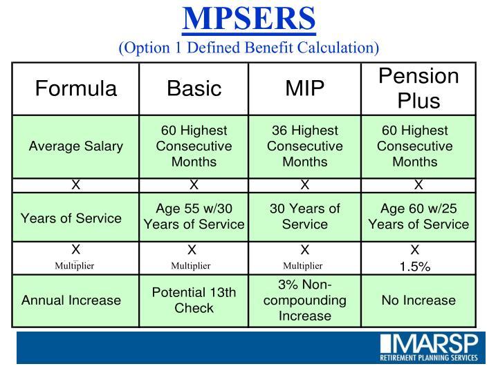 MPSERS
