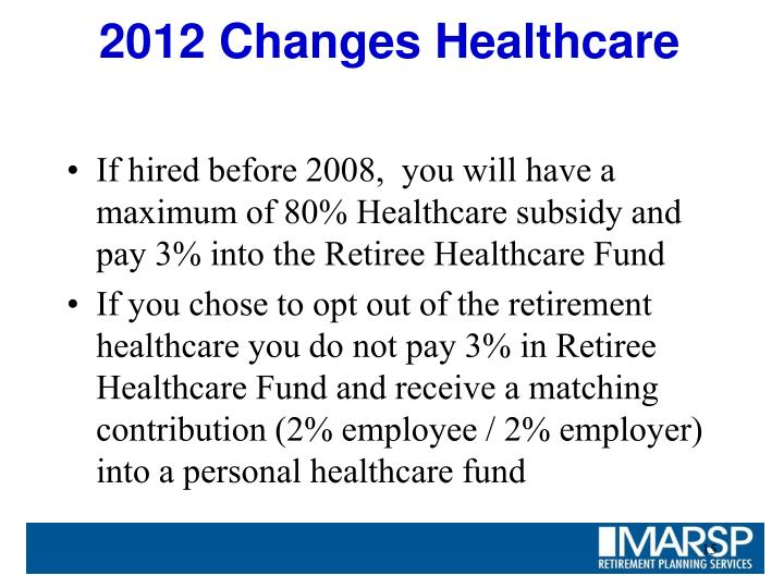 2012 Changes Healthcare