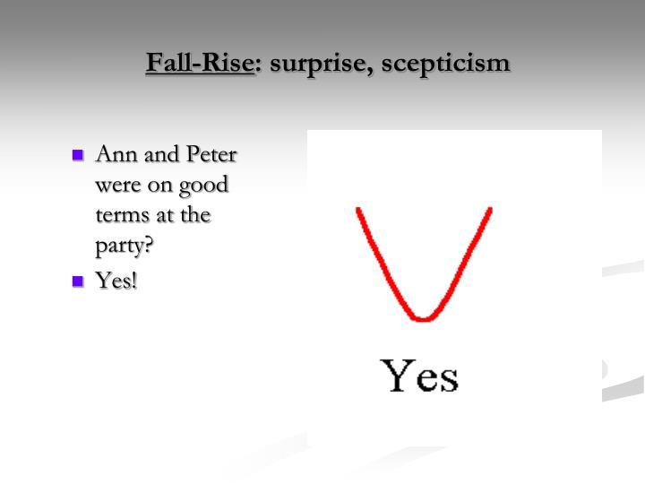 Fall-Rise