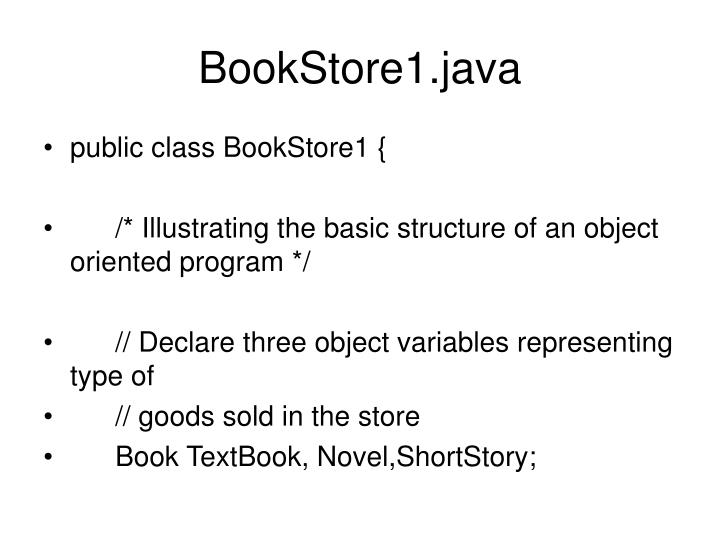 BookStore1.java