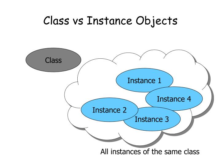 Class vs Instance Objects