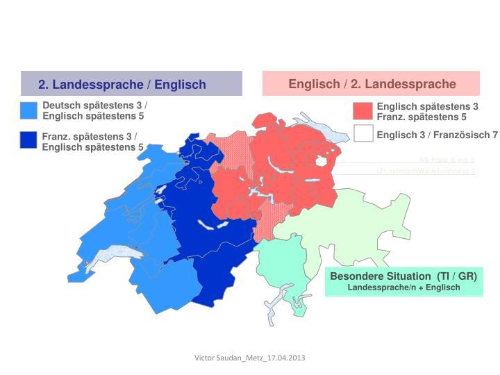 Englisch / 2. Landessprache