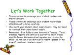 let s work together
