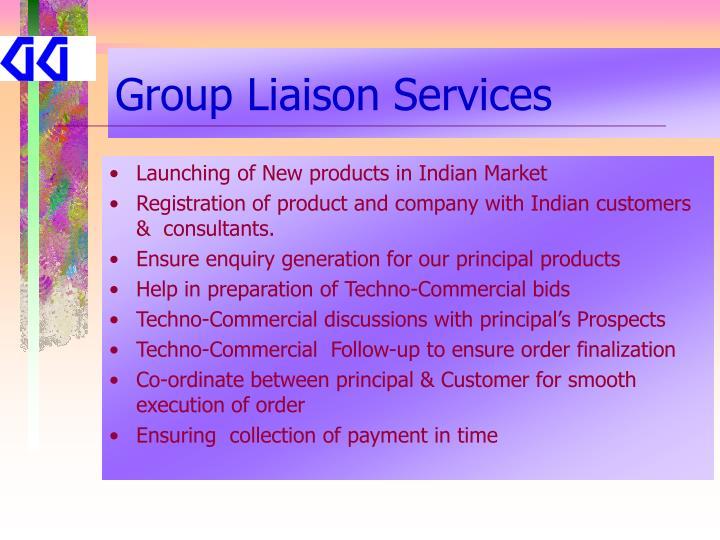 Group Liaison Services