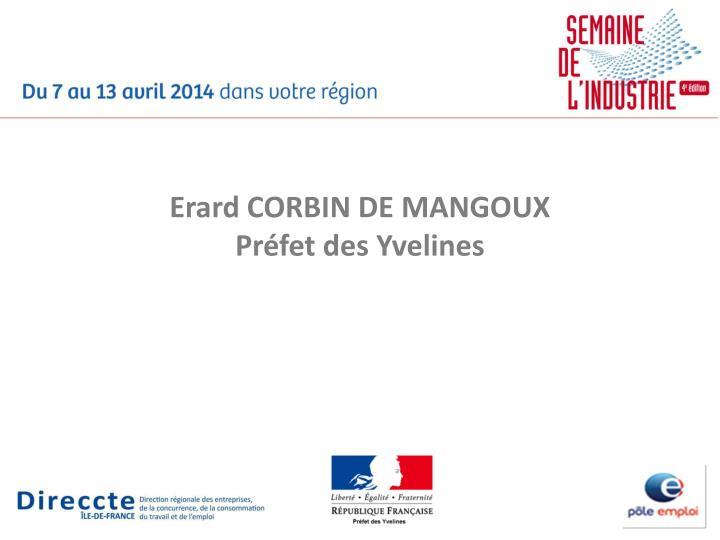 Erard CORBIN DE MANGOUX