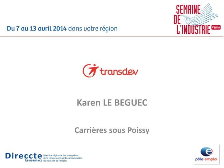 Karen LE BEGUEC