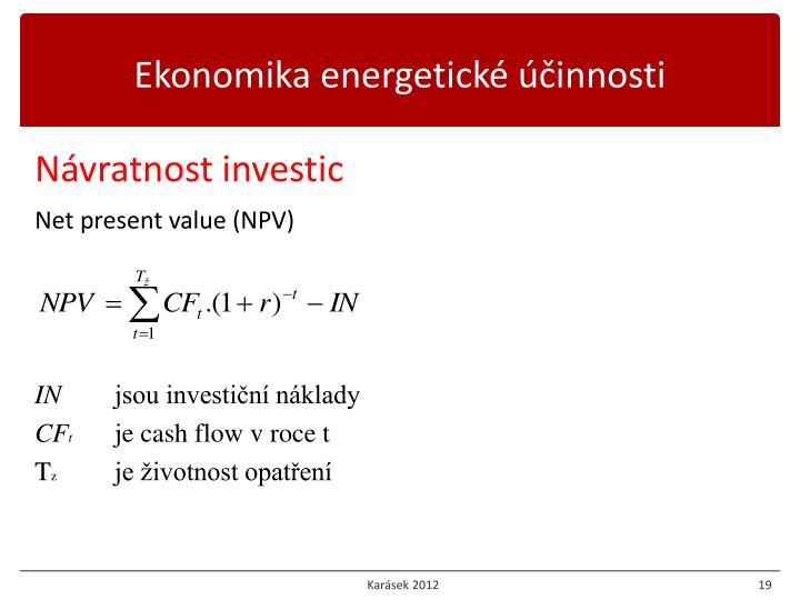 Ekonomika energetické účinnosti