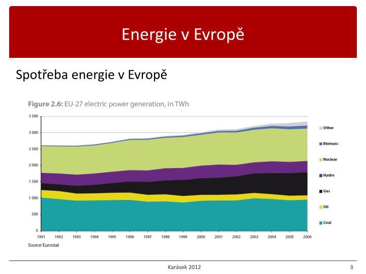 Energie v Evropě