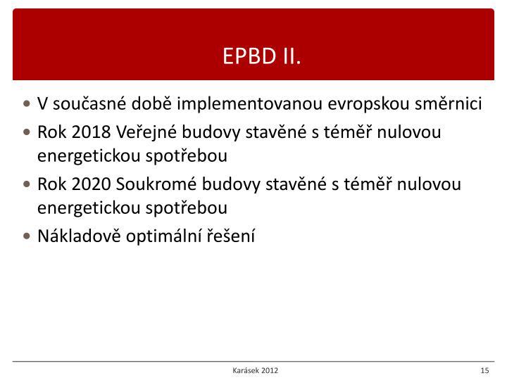 EPBD II.