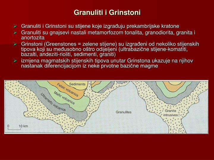 Granuliti i Grinstoni