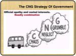 the cng strategy of government