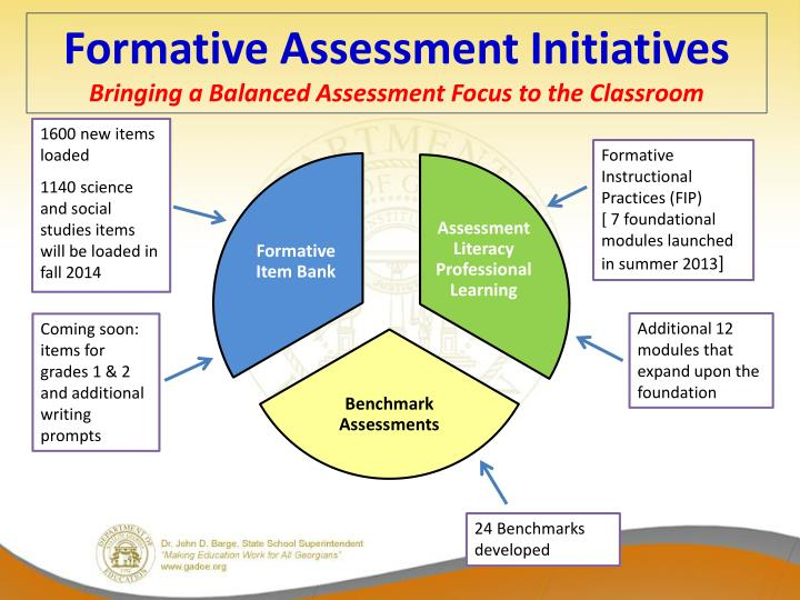 Formative Assessment Initiatives