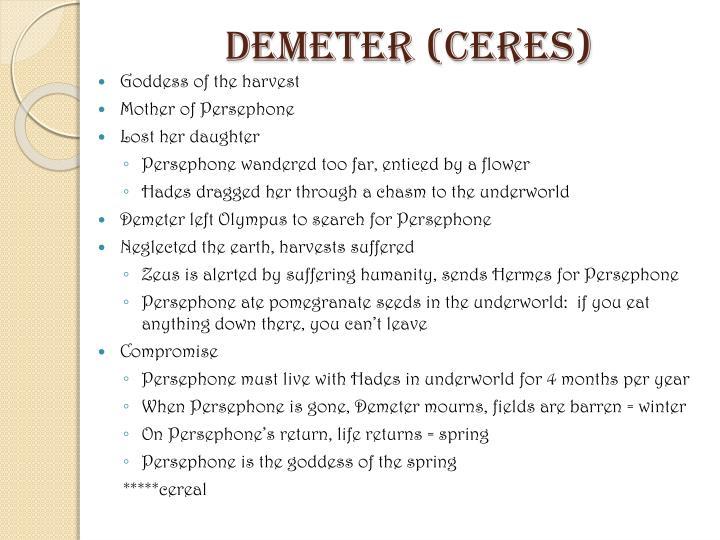 Demeter (Ceres)