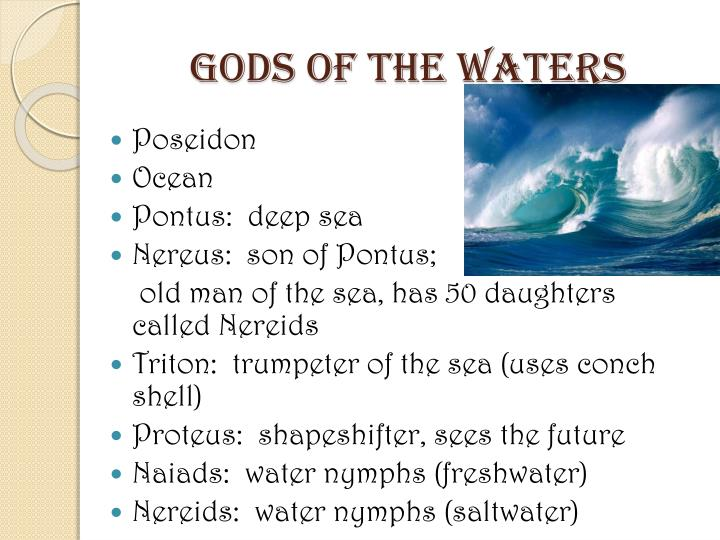 Gods of the Waters