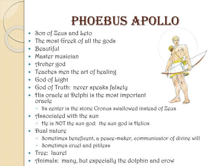 Phoebus Apollo