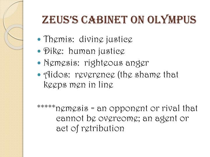 Zeus's Cabinet on Olympus