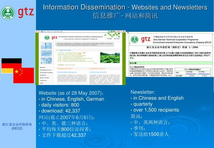 Information Dissemination -