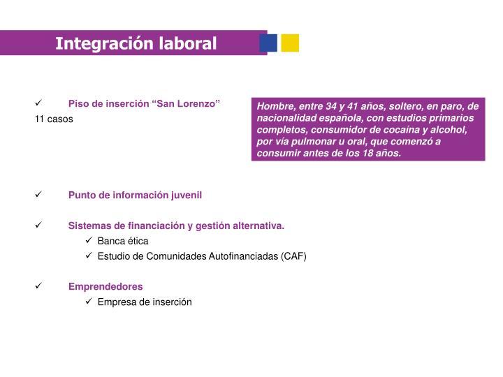 Integración laboral