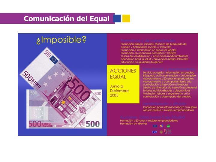 Comunicación del Equal