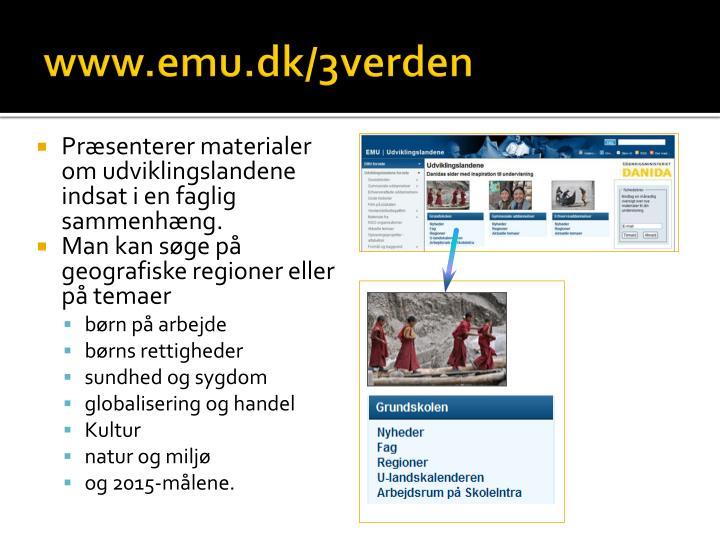 www.emu.dk/3verden