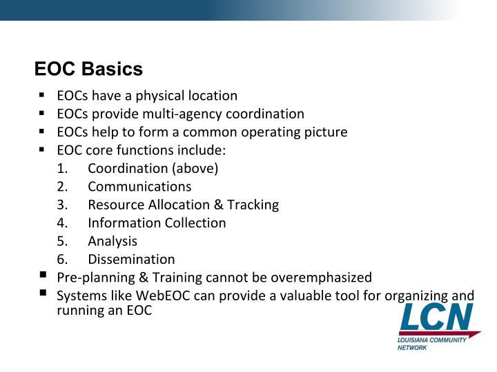 EOC Basics