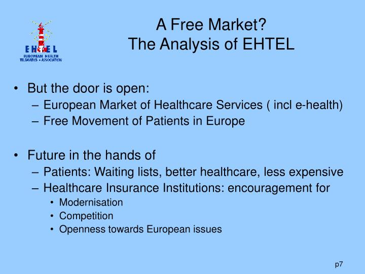 A Free Market?
