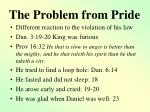 the problem from pride1