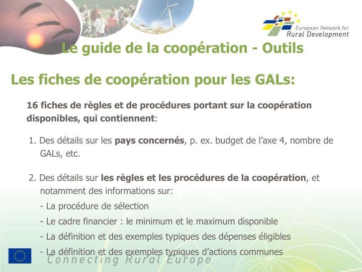 Le guide de la coopération - Outils
