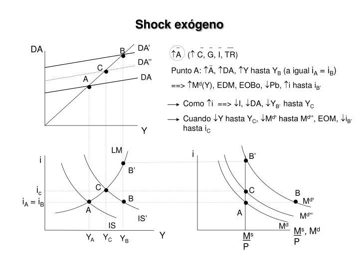 Shock exógeno