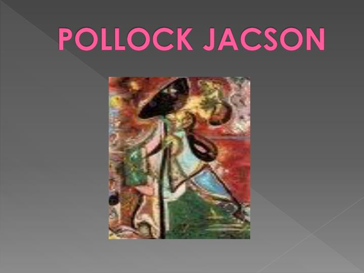 POLLOCK JACSON