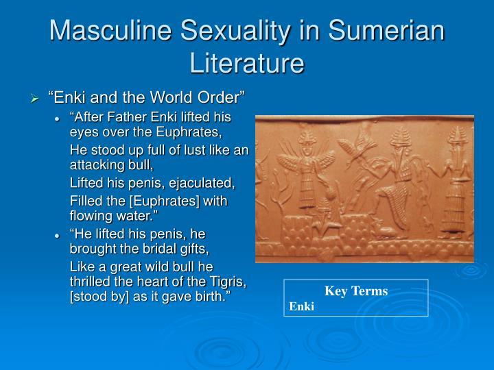 Masculine Sexuality in Sumerian Literature