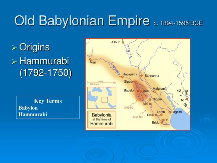 Old Babylonian Empire
