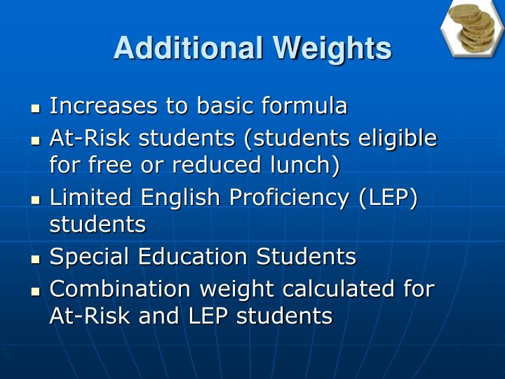 Additional Weights