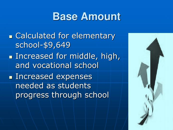 Base Amount