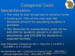 categorical costs1