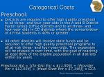 categorical costs4