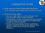 categorical costs5