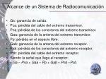 alcance de un sistema de radiocomunicaci n2