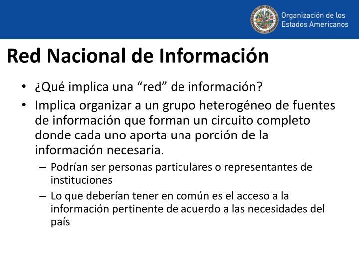 Red Nacional de Información