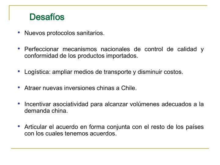 Nuevos protocolos sanitarios.