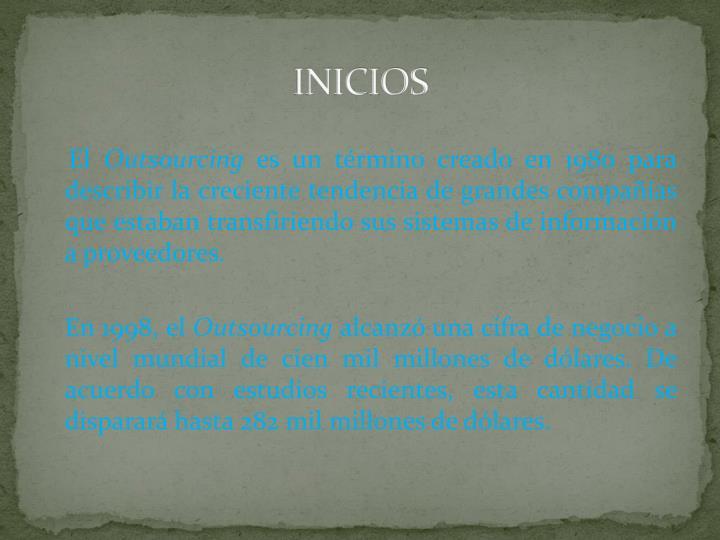 INICIOS