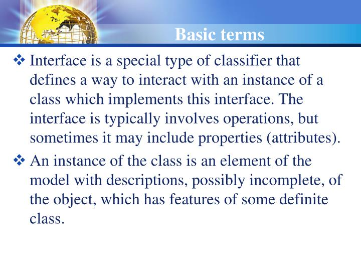 Basic terms1